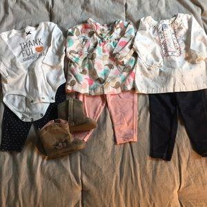 Baby girls Carter's lot